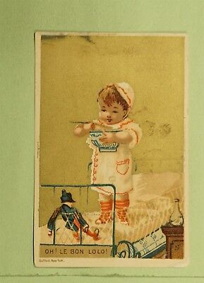 DR WHO VICTORIAN TRADE CARD ADVERTISING BOYDS GALVANIC BATTERY NY  d64904