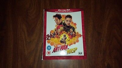 Ant-man and the Wasp 3D Bluray Slipcover Only slipcase NO discs