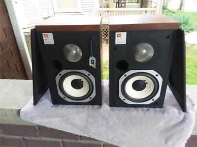 JBL L15 STEREO SPEAKERSEX COND 1 Owner NEW SURROUNDS