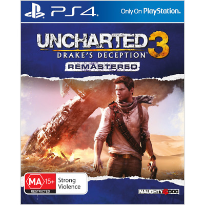 Uncharted 3 Drake's Fortune Remastered (PS4) NEW * Fast Post *CHEAPEST