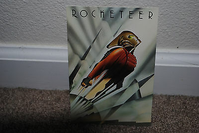 The Rocketeer, 1991 Limited Edition Preview Poster Art Offer Postcard Mint