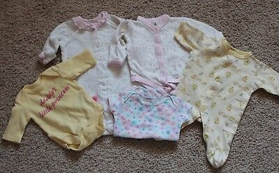 Preemie Baby Girl Clothes Lot Doll Clothes