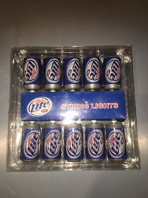 NEW Miller Lite String Lights