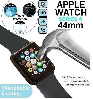 100%Genuine Tempered Glass Screen Protector for iWatch Apple Watch Series 4 44mm