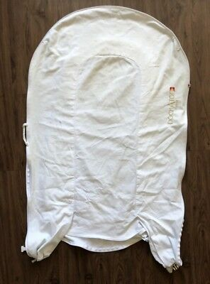 DockATot Deluxe JUST THE COVER Stage 1 Cover Ages 0-8 Months in Pristine White