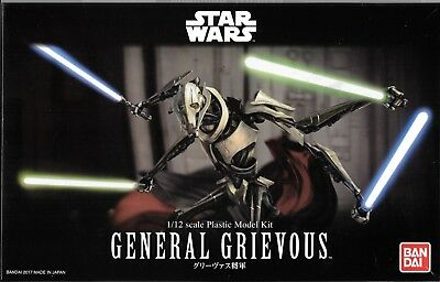BANDAI STAR WARS GENERAL GRIEVOUS MODEL KIT in 1/12  216743  ST