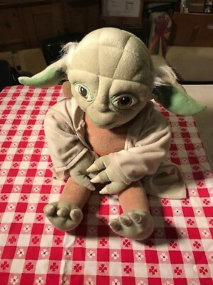 "YODA Plush / Pillow 18"" Genuine STAR WARS Merchandise GREAT CONDITION Lucasfilm"