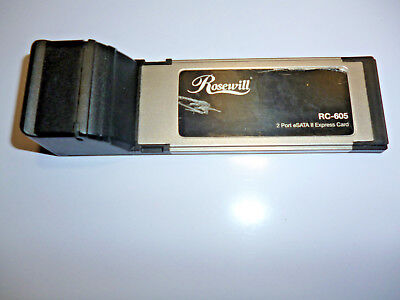 Rosewill - RC605 - eSATA Adapter ExpressCard - 2 Ports - Functions Perfectly!