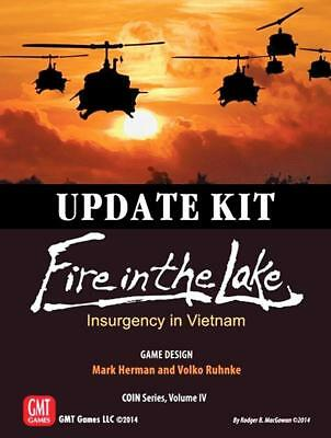 GMT Wargame Fire in the Lake - Update Kit Zip MINT