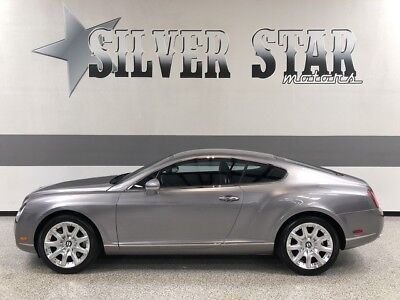 2005 Bentley Continental GT  2005 Continental GT Coupe W12 AWD TwinTurbo Luxury Loaded Xnice Fast TX!