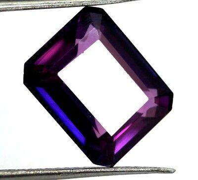 GGL Certified 9.88 Ct Natural Tourmaline Emerald Cut Paraiba Mozambique Gem