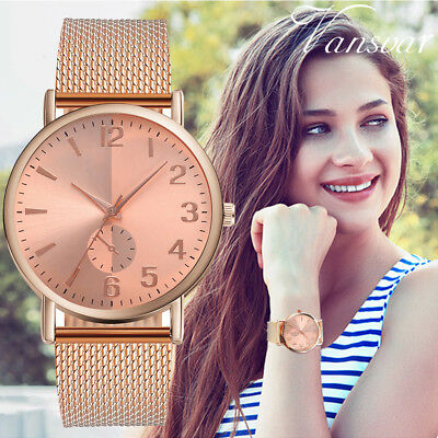 Women's Casual Quartz Watch  Plastic Leather Band Analog Starry Sky Wrist Watch