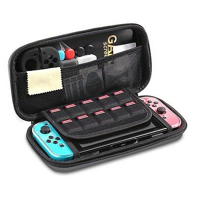Nintendo Switch Carrying Case Protective Deluxe Travel Bag Black Ballistic