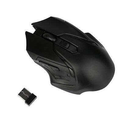 2.4G 3200DPI Maus Funkmaus Wireless Optisch Gaming Mouse For Computer