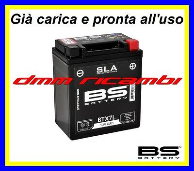 Batteria BS SLA Gel HONDA SH 125 150 09>10 SH125 SH150 2009 2010 pronta all'uso