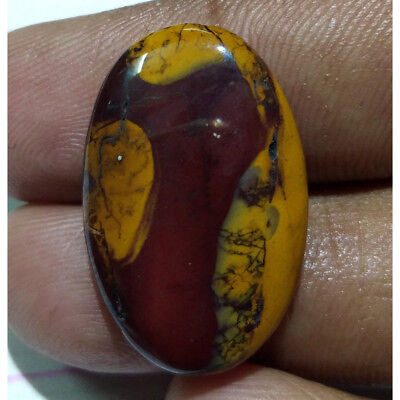 21 Cts. Natural Amzing MOOKITE JASPER Oval Pendant Size Loose Gemstone