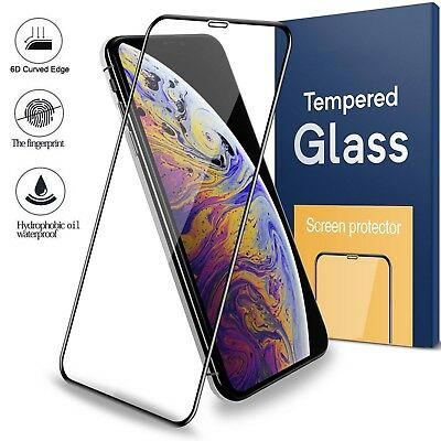 3D Touch Tempered Glass Screen Protector For iphone 6 6s 7 8 Plus X XS MAX XR CA