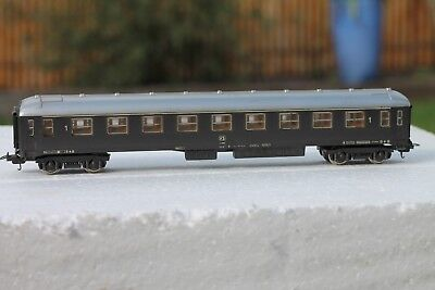 Vintage Lima passenger carriage Dark brown Used  NO box