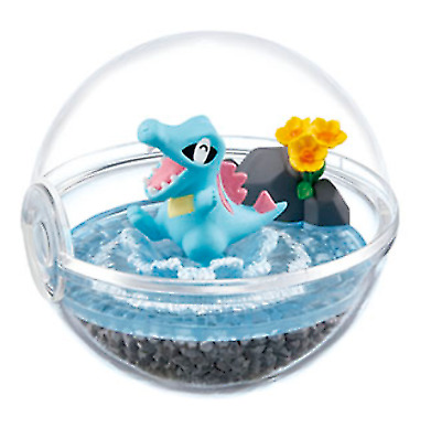 Pokemon Terrarium Collection 4 Totodile from Japan New