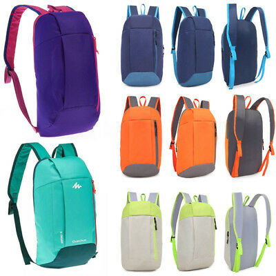 US Waterproof Shoulder Backpack Rucksack School Satchel Travel Hiking Unisex Bag