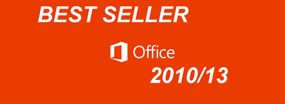 MS Office 2010/13 Activation KEY and Download LINK (32/64 Bit) BEST SELLER