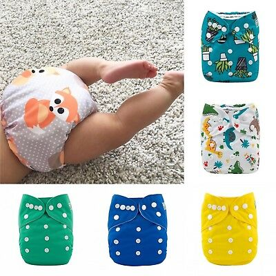 Alva Baby Pocket Nappies x 6 with inserts included