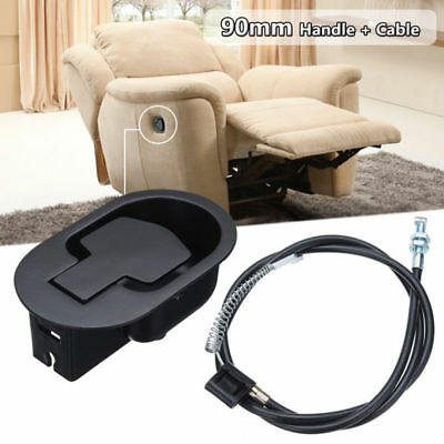 Metal Recliner Handle Lever Trigger Replacement Lounge Sofa Chair Release Cables