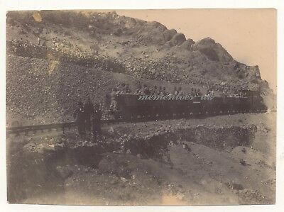 China Chinese Railway Train  c1905 German  Tsingtau Qingdao photograph German