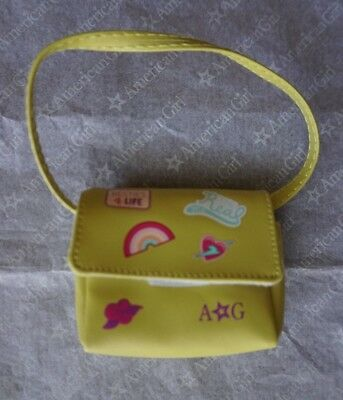 """American Girl 18"""" doll GREEN CROSSBODY BAG for dolls NEW is RARE and HTF!"""