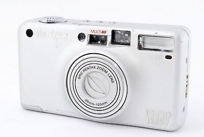 Pentax Espio 120SW 35mm Point & Shoot Film Camera From Japan Tested F/S #1925