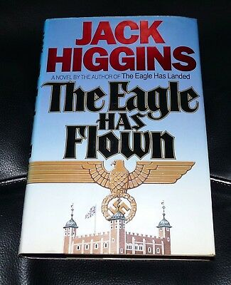 The Eagle Has Flown - Jack Higgins - 1St U.s. Edition 1991 Signed Hardback *rare