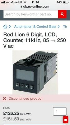 Red Lion Counter C48CS104