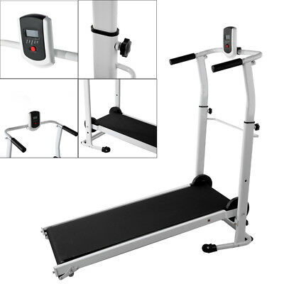 1efde14d616 Folding Mechanical Treadmill Running Machine Exercise Incline Fitness Home  Gym