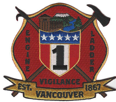 Vancover, Washington State Engine 1 New Dec.2018 Fire Patch