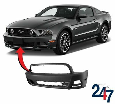 New Ford Mustang Base Gt 2013 - 2014 Bare Plain Front Bumper Dr3Z17D957Ab