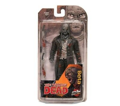 THE WALKING DEAD Beta Action Figure Collectible Characters Age 13+ (Bloody B&W)