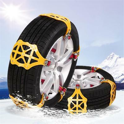 Car Tire Anti-skid Chains Thickened Beef Tendon Wheel Chain for Snow Mud Road