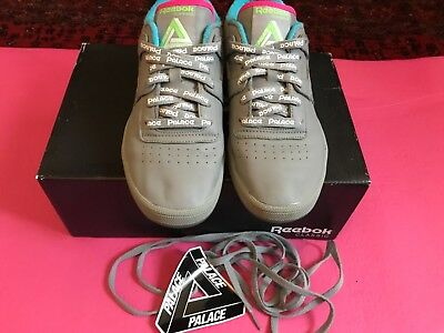 fd38871a064be4 Palace x reebok club workout grey uk 6 sticker laces collab sneakers  trainers