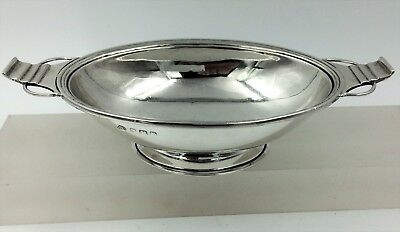 Superb Silver Art Deco dish bowl Adie Brothers Birmingham 1933