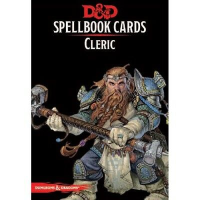 Spell book Cards : Cleric Deck (153 Cards) - 2017 Edition - 73916