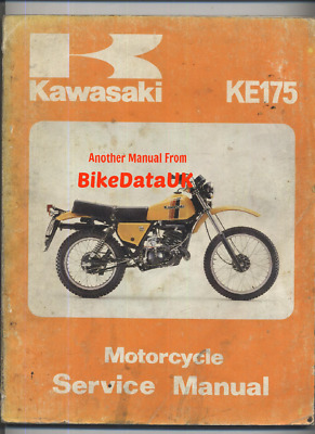CLYMER MANUAL KAWASAKI Kd80 1975-1976 & 1980-1987, Ke175 1976-1978 on