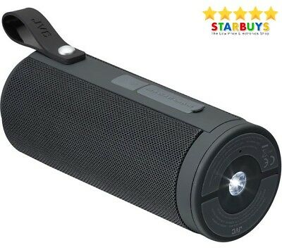JVC SP-AD80-B 20W Portable Bluetooth Party Speaker With Built-in Torch - Black