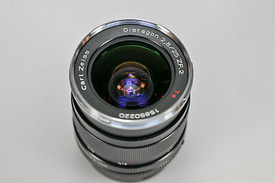 Carl Zeiss Distagon 2.8/25 ZF.2 T* – Nikon Mount – Neuwertig in OVP