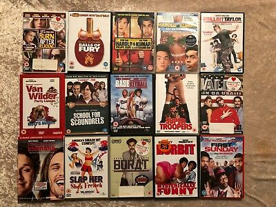 15 x Comdedy DVD Collection Bundle Joblot Bulk DVDs