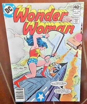 Wonder Woman #258, (1979, DC): The Long Grey Line...of Death!