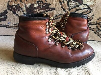febe93a596be5 VINTAGE RED WING Irish Setter Mountaineering Hiking Boots Mens Size 9.5 D  USA