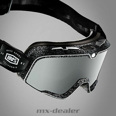 2019 100 % Prozent Barstow Noise Caferacer Scrambler Cross Classic Brille Black