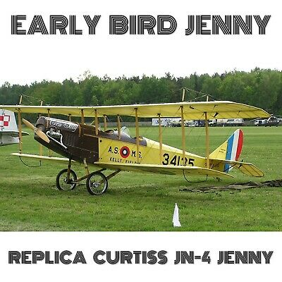 Jn-4 Jenny 2/3 Replica - Paper Plans And Information Set(4.16Gb) For Homebuild