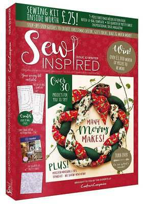 Sew Inspired Magazine Issue 10 With Free Sewing Kit Worth £25 Winter 2017