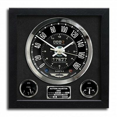 Chronos Speedometer Art Print Wall Clock Aston Martin DB5